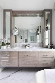 gray floating vanity