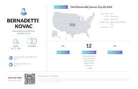 Bernadette Kovac, (913) 334-3778, 7645 Klamm Rd, Kansas City, KS ...