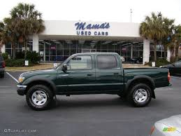 2003 Imperial Jade Green Mica Toyota Tacoma PreRunner Double Cab ...