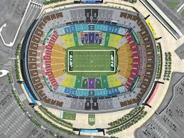 Ny Jets Stadium Seating Chart Metlife Stadium Map Meadowlands Stadium Map New York Usa
