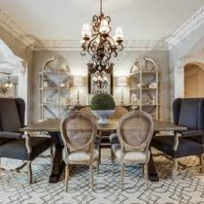 French country dining room furniture Stunning Soft Gray Dining Room With French Country Charm Hgtv Photo Library French Country Dining Room Photos Hgtv