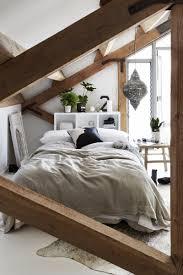 Holzbalken Im Schlafzimmer Rustikal Gemütlich Wohnideen Home