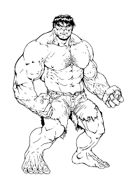 Hulk Coloring Pages Free Online Lego To Print Printable Hogan Adult
