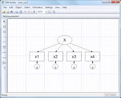 individual structural equation models are usually described using path diagrams such as