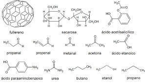 50 Ejemplos de Moléculas
