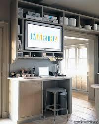 office in kitchen. kitchen office in martha stewartu0027s home