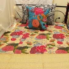 Black Floral Quilt & Different color options in same item: Adamdwight.com
