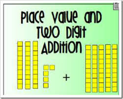 Place Value Flip Chart Promethean Free Place Value And Two Digit Addition Flip Chart For The