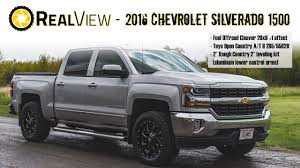 All Chevy chevy 1500 leveling kit : RealView - Leveled 2016 Chevy Silverado 1500 w/ 20