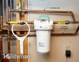 diy whole house water filter. Plumbing A Whole House Filter: After All, Good Water Doesn\u0027t Have To Come From Maine | Diy Filter