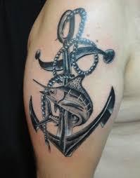 татуировка якорь на запястье значение