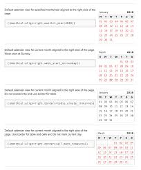 Small Calender How To Add Small Calendar To Dokuwiki Page