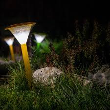 amazing outdoor lighting. Solar Powered Outdoor Path Lights Amazing Lighting