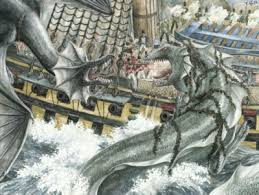 Image result for images of sea serpents