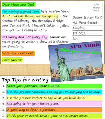 a postcard from new york learnenglish teens british council show check your understanding grouping