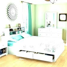 queen size platform bed with storage – sogy.info