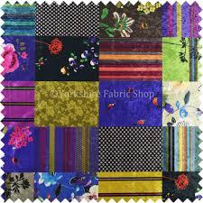 british designed printed multi coloured alice wonder patchwork printed on luxury crushed velvet london printed 012