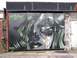 garage door artGarage Door Art  Port Talbot Wales