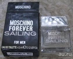 <b>Moschino Forever Sailing туалетная</b> вода 4,5 мл для мужчин ...