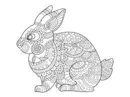 Coloring Pages Of Rabbits