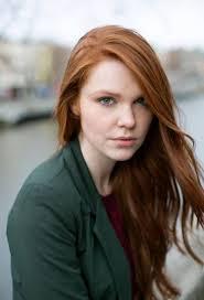 Natural redhead girl photo