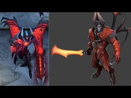 league of legends and dota 2 similar characters youtube