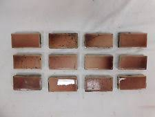antique fireplace tile. 12 - antique trent 1 x 3 fireplace hearth tiles c. 1885 architectural salvage tile