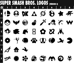 Super Smash Bros. Logos (Version 2) by TriforceJ on DeviantArt