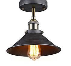 antique industrial edison semi flush ceiling lamp vintage mini p ceiling industrial lighting fixtures industrial lighting