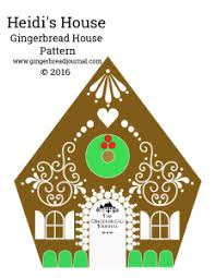 Gingerbread House Patterns Cool Gingerbread House The Gingerbread Journal How To Make A Festive
