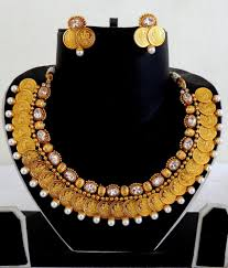 Gold Necklace Designs In 80 Grams With Price Exclusive One Gram Gold Ginni Temple Jewelry Set Buy