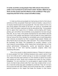 essay on leisure time essay example on how students can spend their leisure time