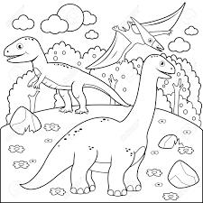 555+Tranh tô màu khủng long đẹp và dũng mãnh cho bé yêu thích
