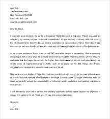 flight attendant cover letters sample flight attendant cover letter 6 free documents in