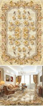 Kitchen Wall Mural Classic Luxury Roses 00070 Floor Decals 3d Wallpaper Wall Mural