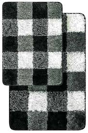 black bathroom rug set and white bath mat modern uk gray bathro