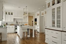 Traditional Italian Kitchen Interior Design With Recessed Lighting
