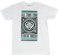 All Time Low T Shirt Design All Time Low Mens T Shirt Future Hearts Heart Eye Ornate