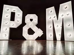 Large Letter Lights Wedding Amazon Com Custom Large Wedding Marquee Letters Large Light