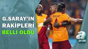 Galatasaray'ın Rakipleri Belli Oldu! İşte Galatasaray'ın Avrupa Ligi Grubu  / A Spor / Spor Ajansı - YouTube