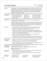 Military Transition Resume Examples Military To Civilian Resume