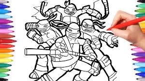 Tmnt Coloring Pages Coloring Leonardo Donatello Michelangelo