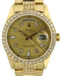 rolex men s watches up to 70% off at tradesy rolex men s rolex day date 18k gold president 5 5 ctdiamond watch