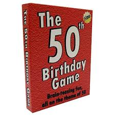 the 50th birthday game fun 50th birthday party idea also a uniquely fun 50th birthday gift for men and for women