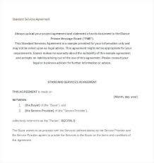 Master Service Agreement Template | Nfcnbarroom.com