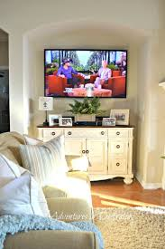 Tv Decorations Living Room 17 Best Ideas About Mounted Tv Decor On Pinterest Tv Stand Decor