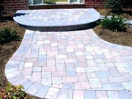 resin patio bedroom amazing square s home depot ideas driveway at blocks concrete plastic pavers review