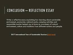 chapter dias inolvidables an unforgettable days ppt video  conclusion reflection essay