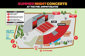Concert Ticket Layout Fascinating Seating Charts TicketLeader