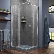 bathroom corner shower. Cornerview 34.5\ Bathroom Corner Shower W